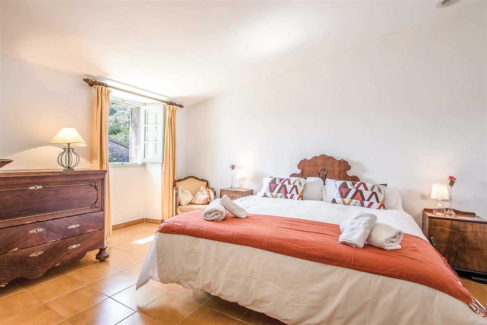 Double bedroom at Villa Can Segui, Puerto Pollensa, Mallorca