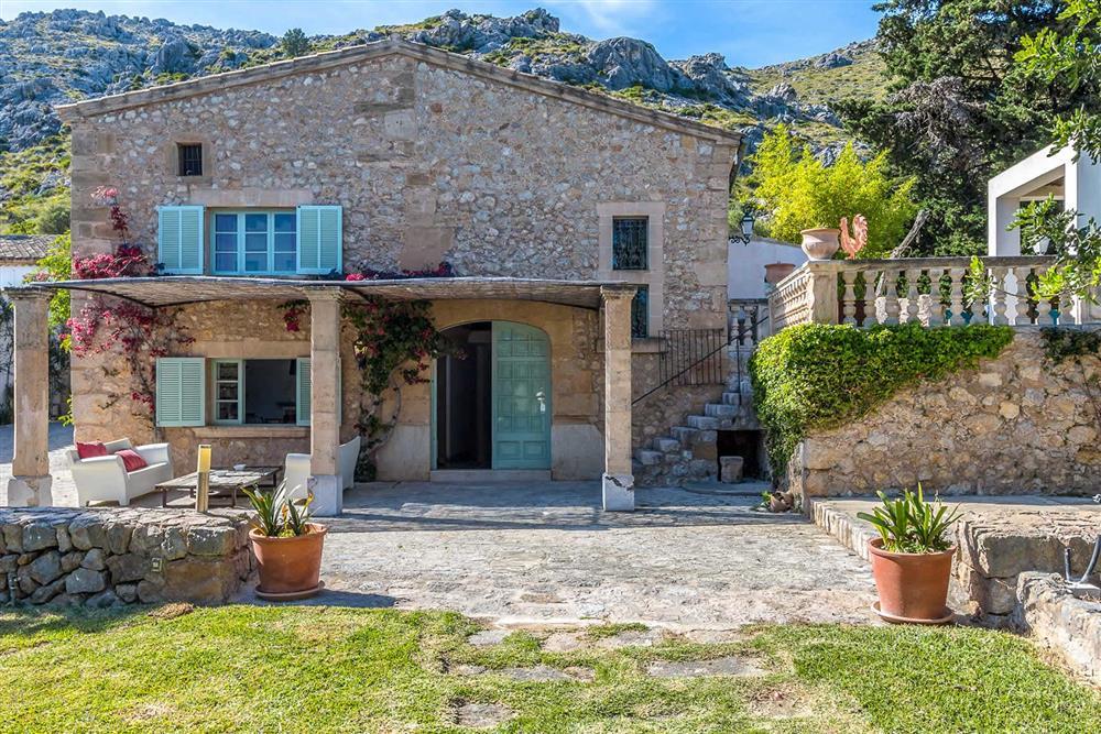 Garden (photo 4) at Villa Can Segui, Puerto Pollensa, Mallorca