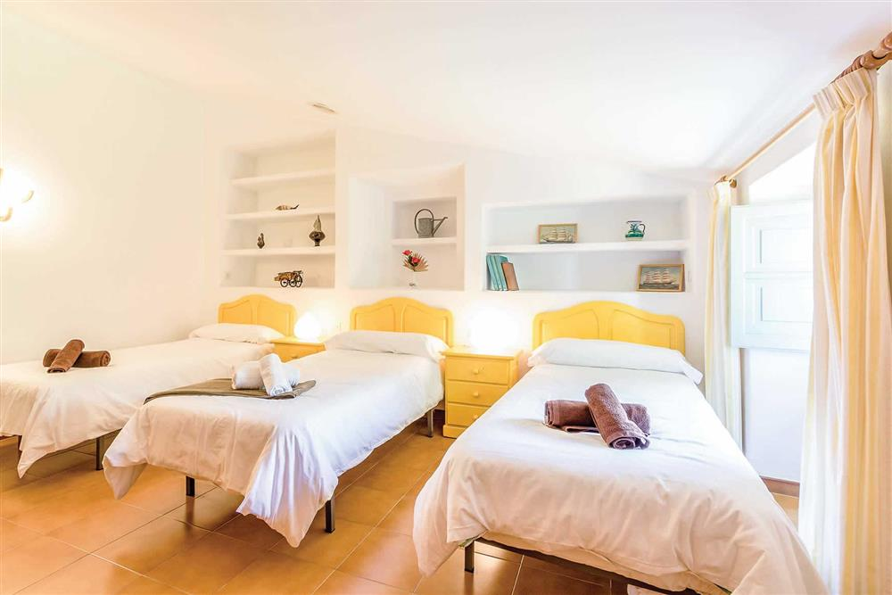 Large bedroom at Villa Can Segui, Puerto Pollensa, Mallorca