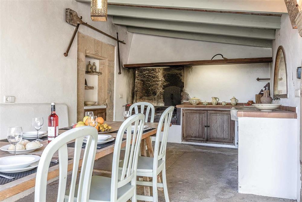 The kitchen (photo 2) at Villa Can Segui, Puerto Pollensa, Mallorca