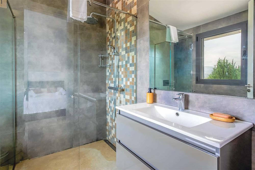 Bathroom at Villa Can Tereu, Pollensa, Mallorca