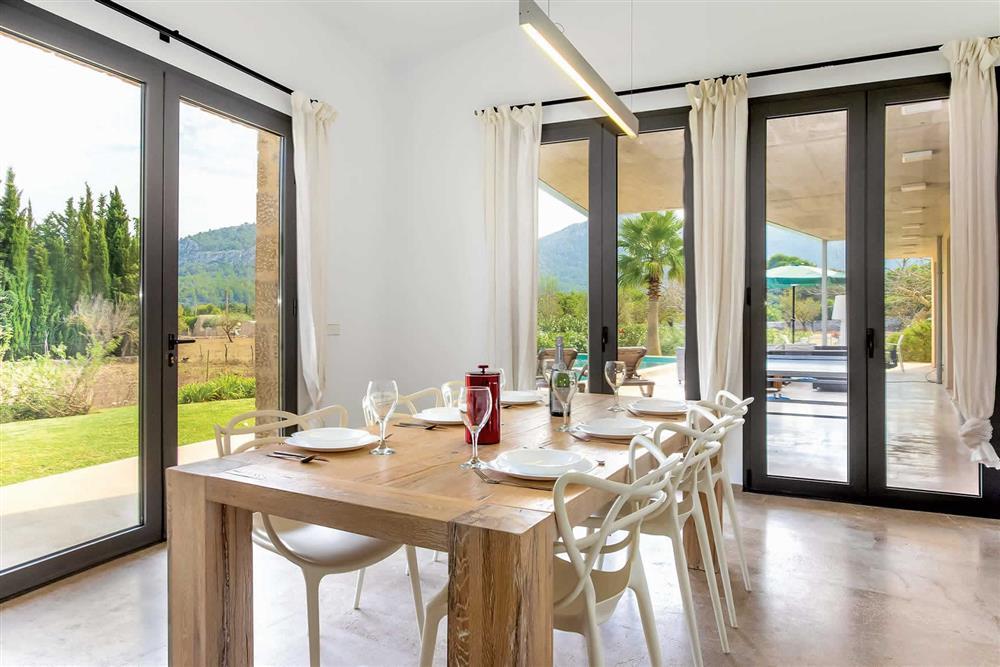 Dining room (photo 2) at Villa Can Tereu, Pollensa, Mallorca
