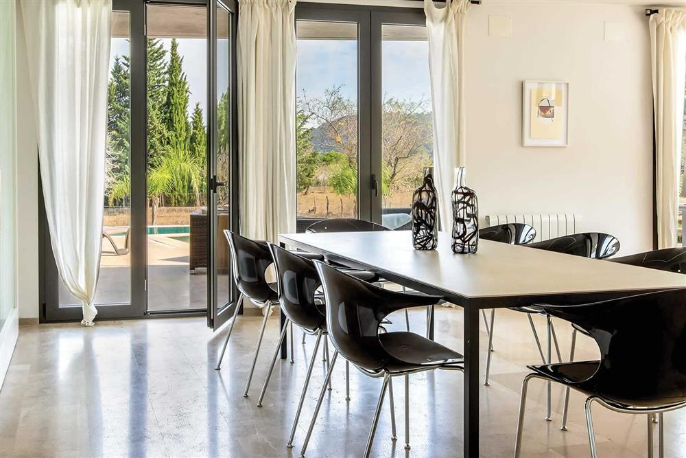 Dining room at Villa Can Tereu, Pollensa, Mallorca