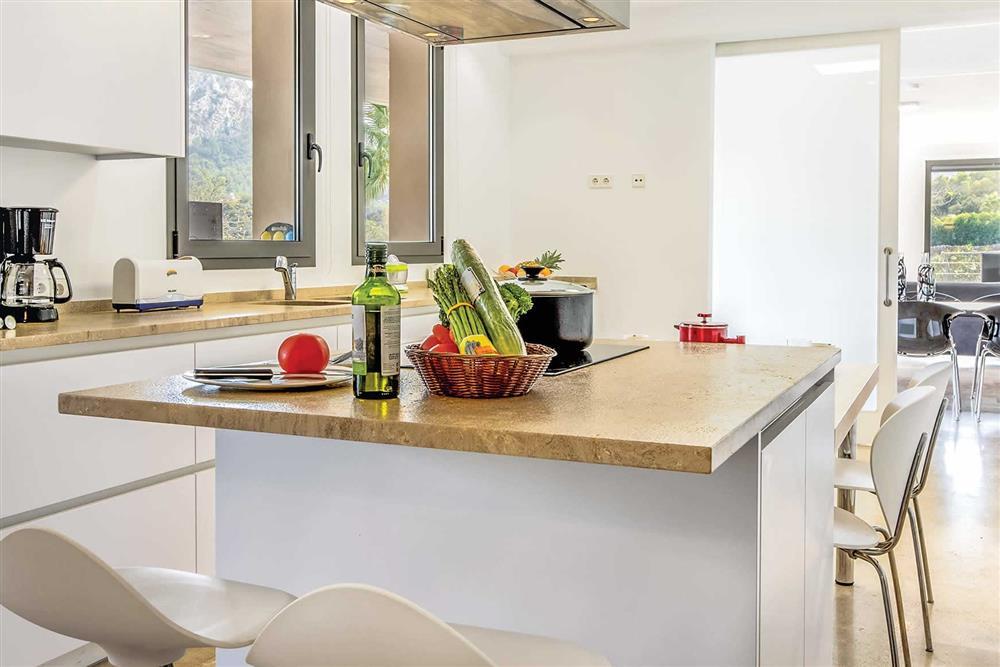 Kitchen/diner, kitchen at Villa Can Tereu, Pollensa, Mallorca