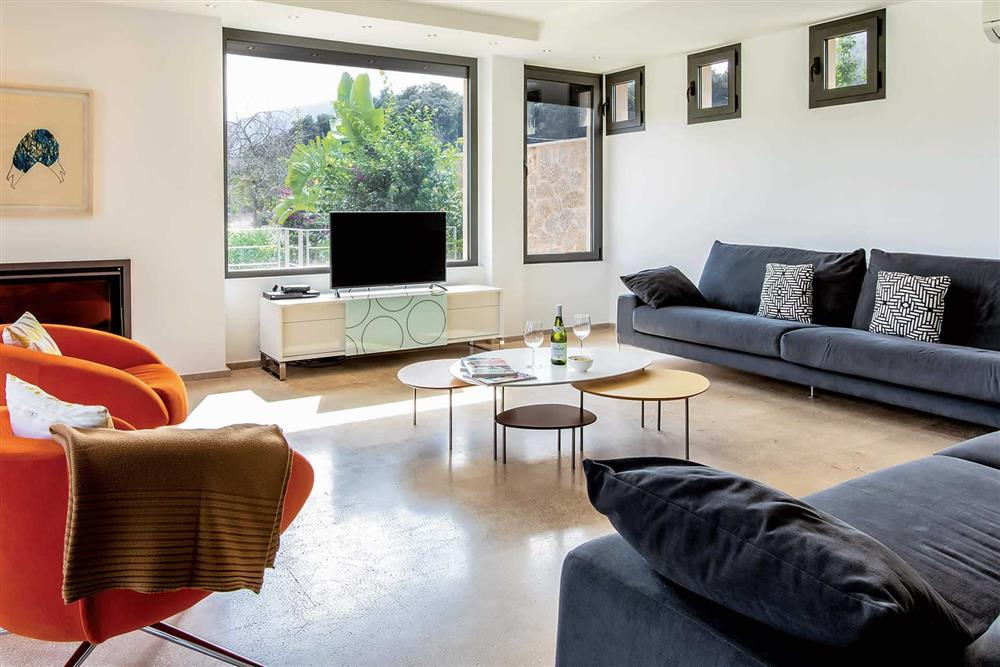 Lounge at Villa Can Tereu, Pollensa, Mallorca