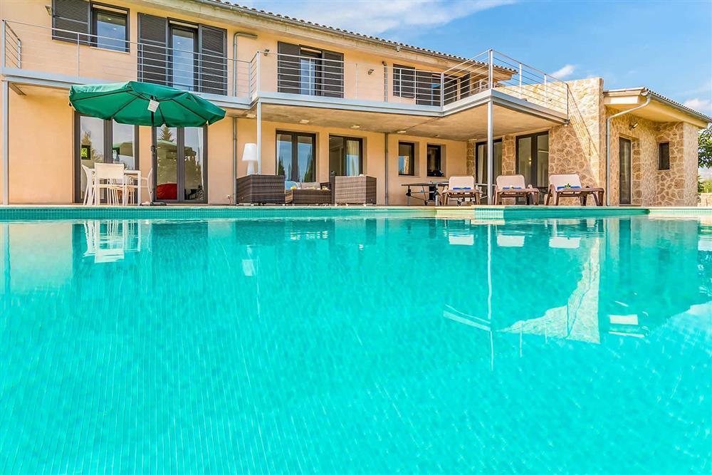 Pool, villa with pool, villa exterior at Villa Can Tereu, Pollensa, Mallorca