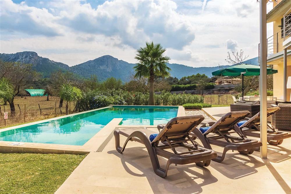 Pool at Villa Can Tereu, Pollensa, Mallorca