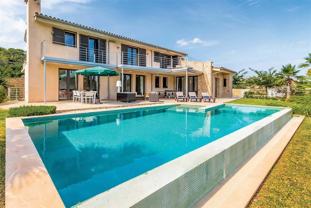 Villa with pool, villa exterior, pool at Villa Can Tereu, Pollensa, Mallorca