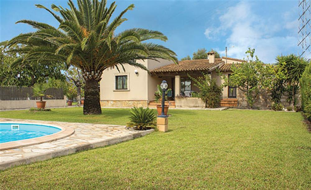 Garden at Villa Can Vilar, Pollensa Mallorca, Spain