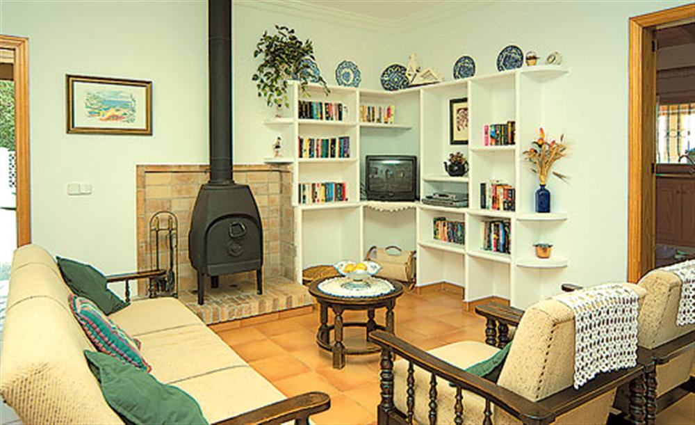 Living room at Villa Can Vilar, Pollensa Mallorca, Spain
