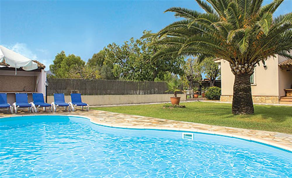 Swimming pool (photo 2) at Villa Can Vilar, Pollensa Mallorca, Spain