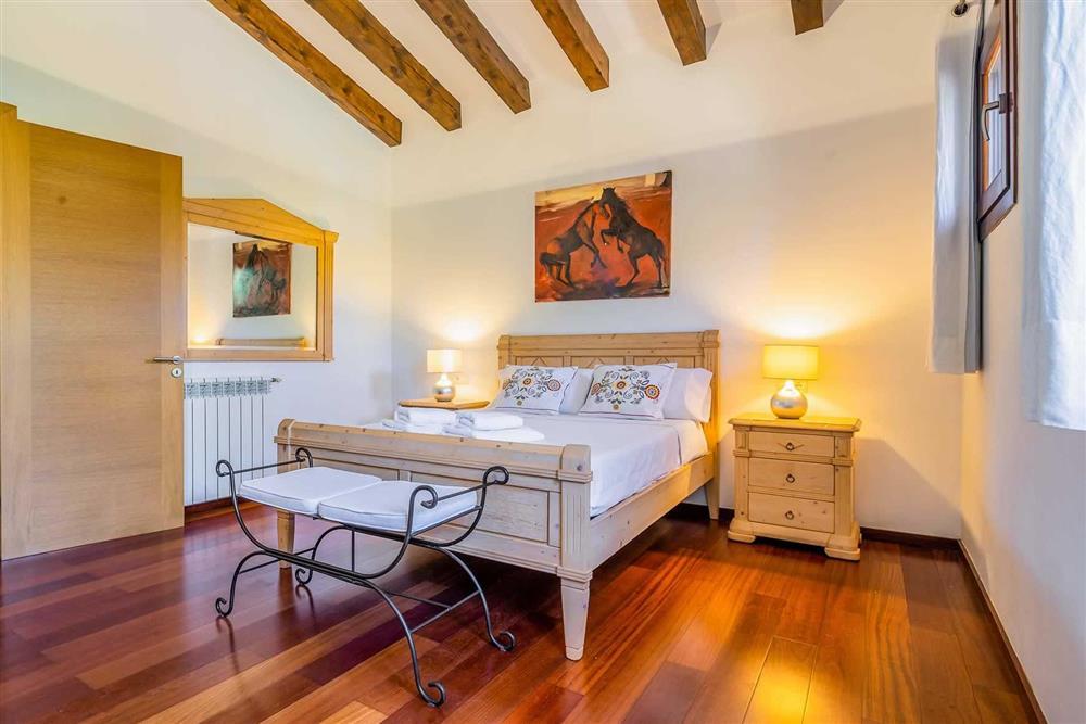 Double bedroom at Villa Canacati, Pollensa, Mallorca