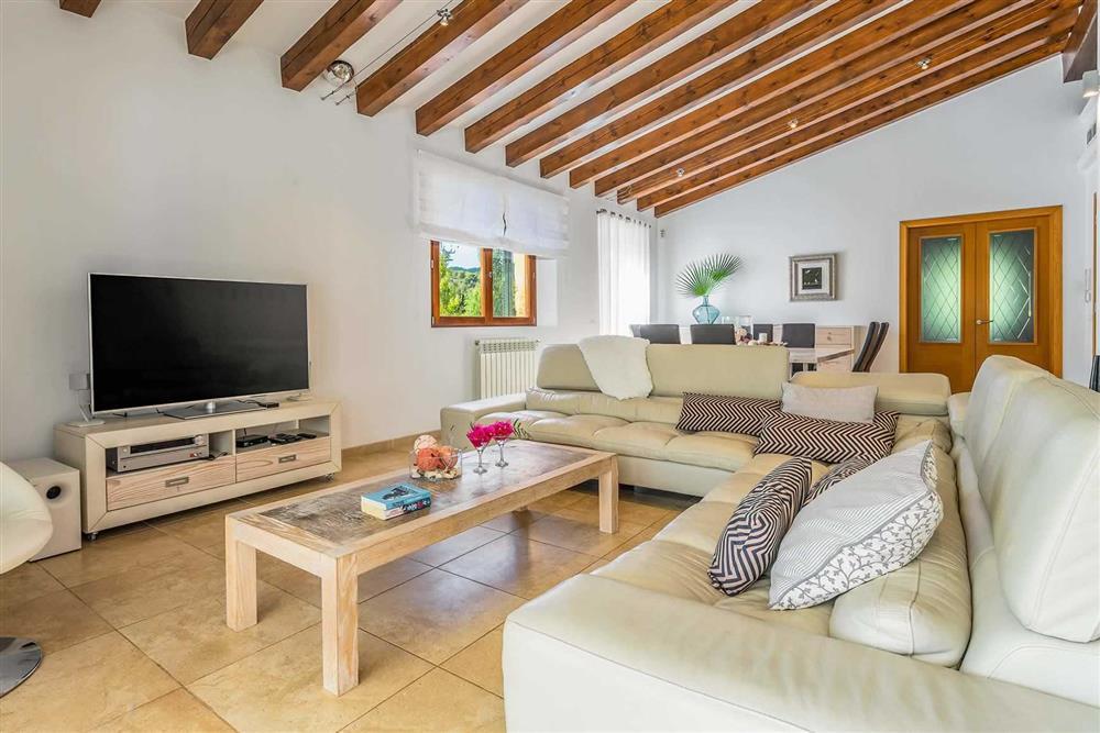 Living room at Villa Canacati, Pollensa, Mallorca
