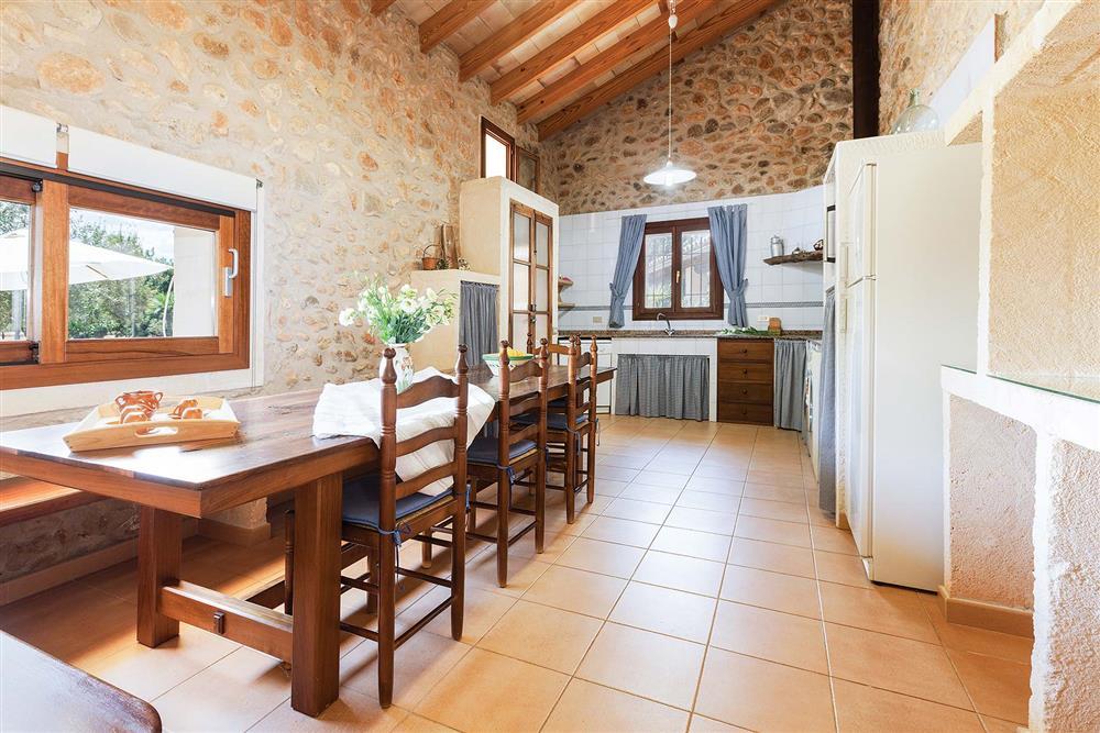 Dining room at Villa Carratxet, Sa Pobla, Mallorca