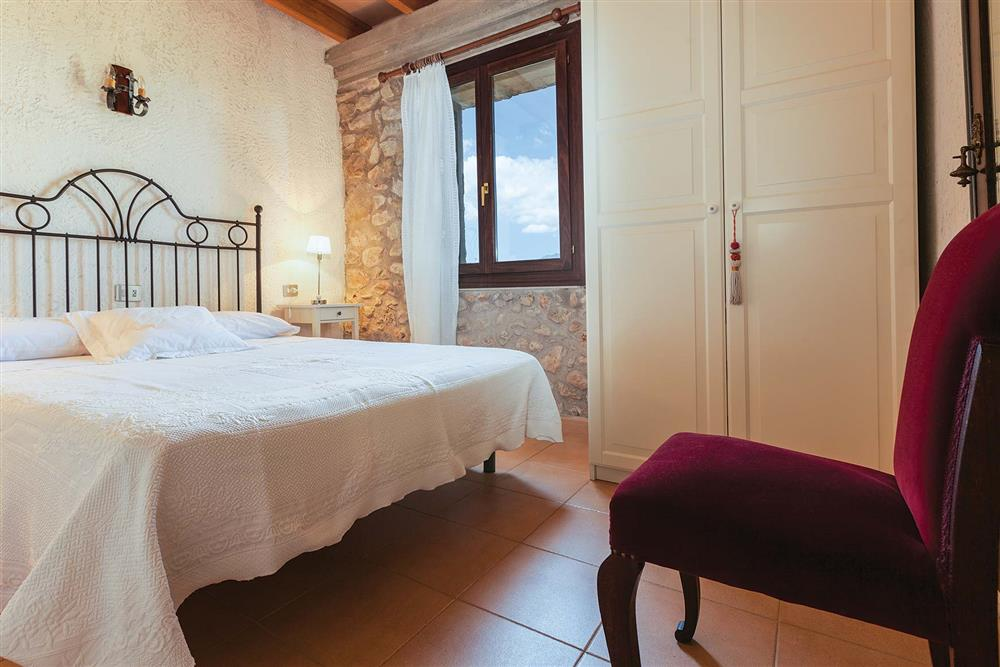 Double bedroom at Villa Carratxet, Sa Pobla, Mallorca