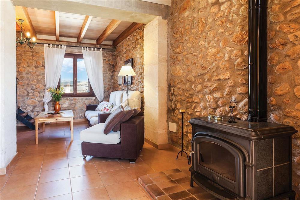 Living room at Villa Carratxet, Sa Pobla, Mallorca
