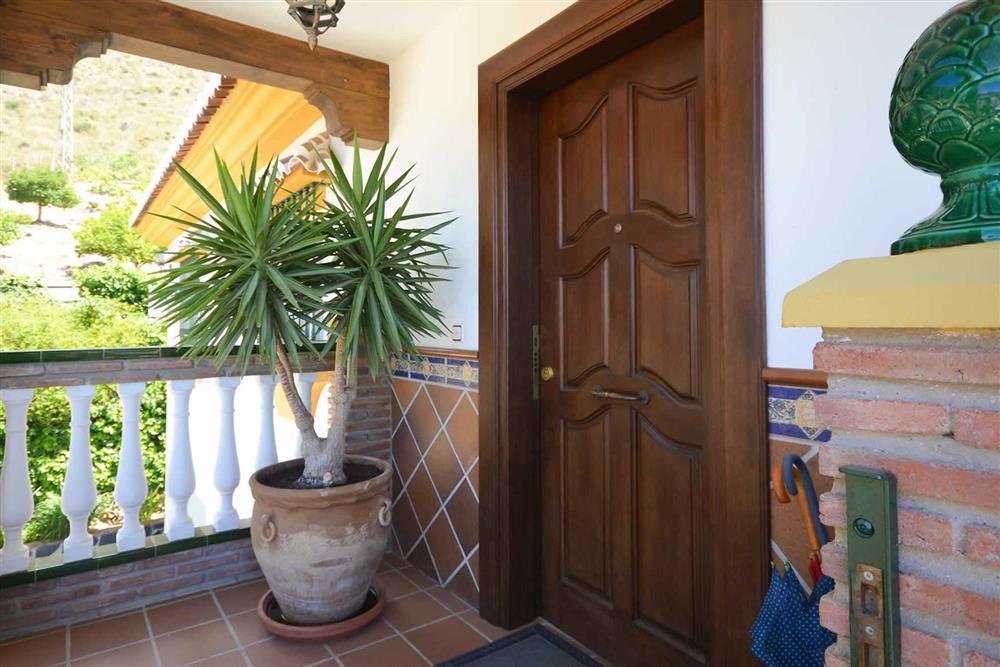 Access to villa at Villa Casa Dalia, Nerja, Andalucia