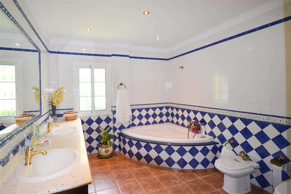 Bathroom at Villa Casa Dalia, Nerja, Andalucia