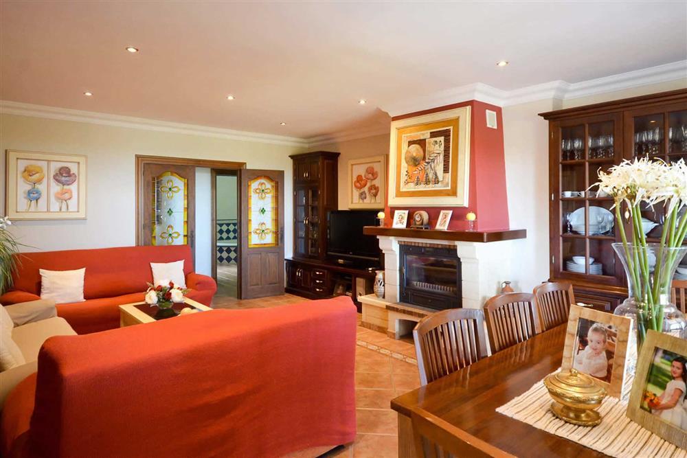 Dining room, lounge at Villa Casa Dalia, Nerja, Andalucia