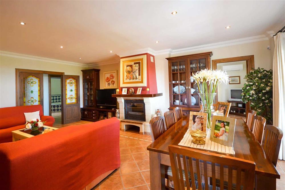 Dining room at Villa Casa Dalia, Nerja, Andalucia