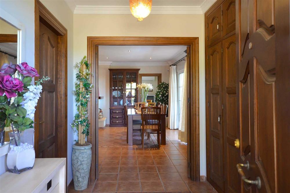 Hallway, dining room at Villa Casa Dalia, Nerja, Andalucia