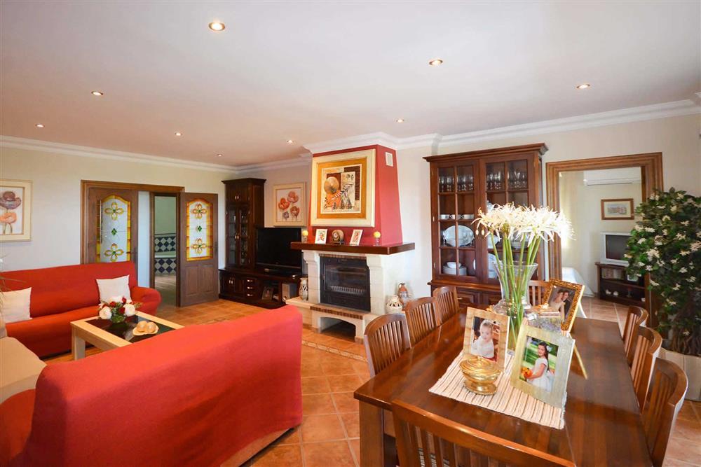 Lounge, dining room at Villa Casa Dalia, Nerja, Andalucia