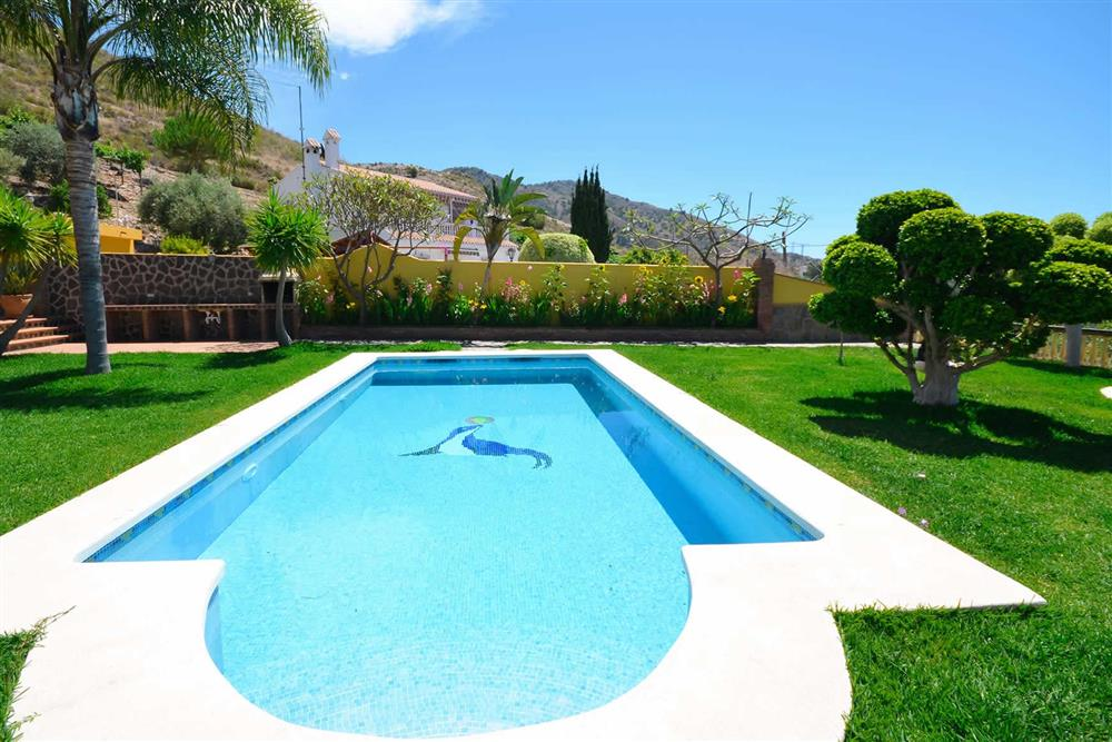 Pool at Villa Casa Dalia, Nerja, Andalucia