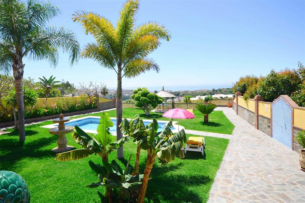 Sea view, pool, garden at Villa Casa Dalia, Nerja, Andalucia