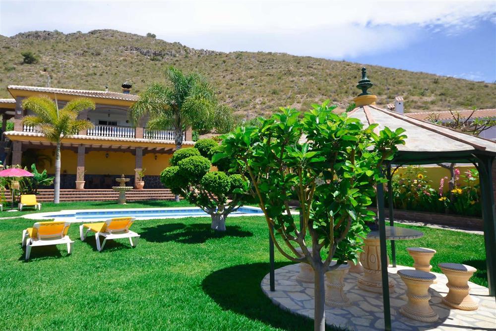 Seating area, villa with pool at Villa Casa Dalia, Nerja, Andalucia