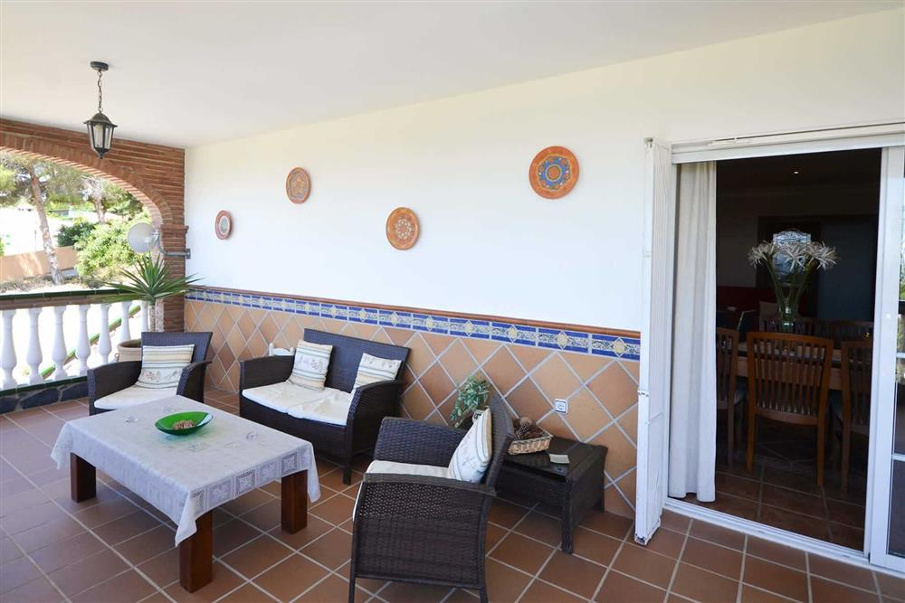 Seating area at Villa Casa Dalia, Nerja, Andalucia