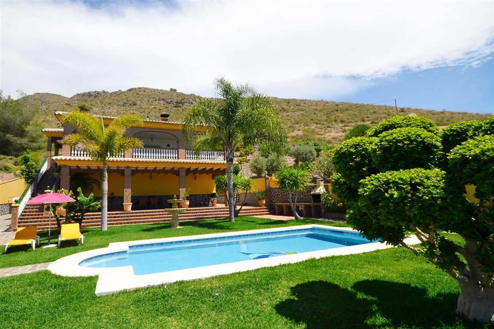 Villa exterior, villa with pool (photo 2) at Villa Casa Dalia, Nerja, Andalucia
