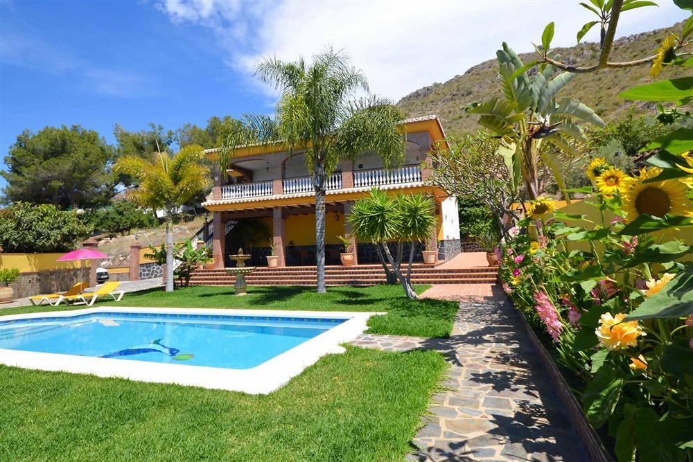 Villa with pool, garden at Villa Casa Dalia, Nerja, Andalucia
