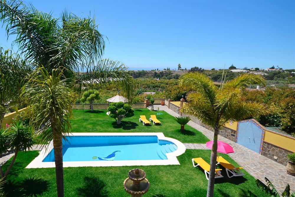 Villa with pool, sea view, garden at Villa Casa Dalia, Nerja, Andalucia