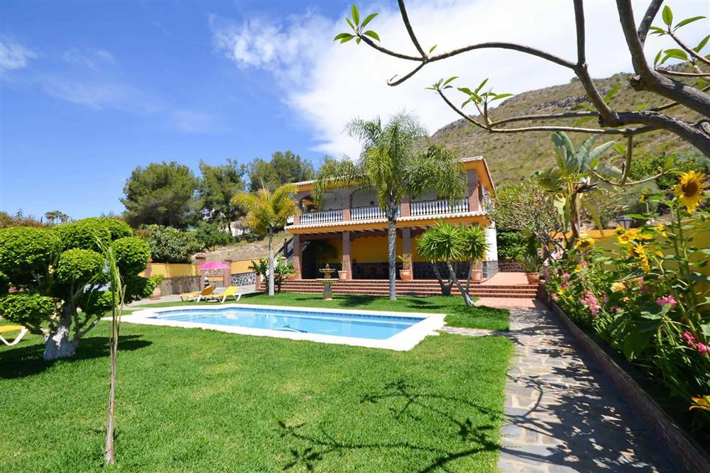 Villa with pool, villa exterior at Villa Casa Dalia, Nerja, Andalucia