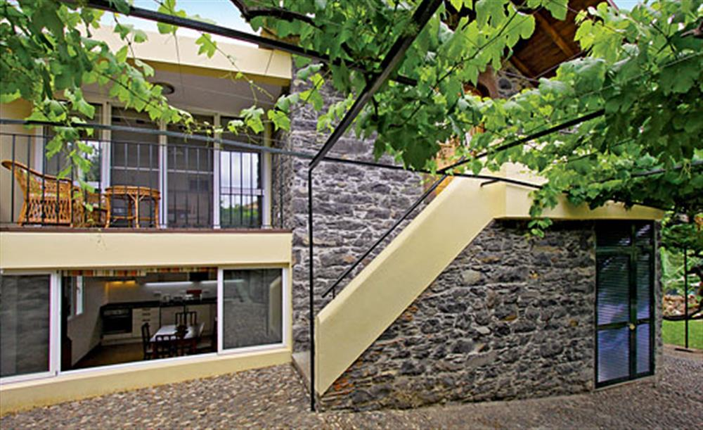 Outside the villa at Villa Casa do Feitor, Funchal Madeira, Portugal