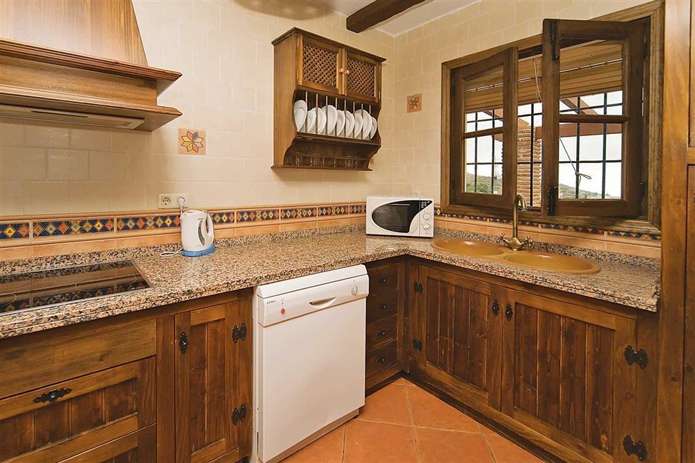 Kitchen at Villa Casa Jorge, Frigiliana, Andalucia, Spain