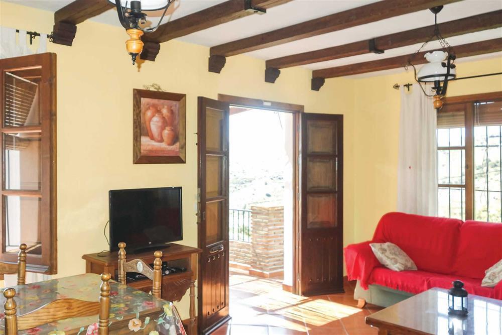 Lounge at Villa Casa Jorge, Frigiliana, Andalucia, Spain
