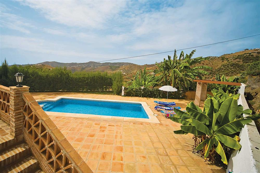 Pool at Villa Casa Jorge, Frigiliana, Andalucia, Spain