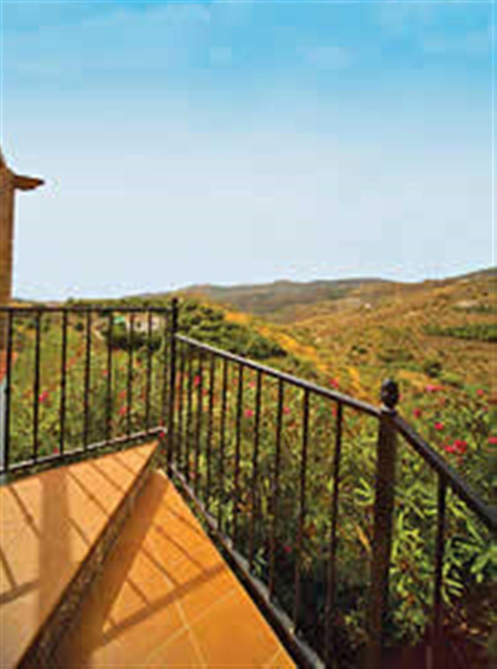 View at Villa Casa Jorge, Frigiliana, Andalucia, Spain
