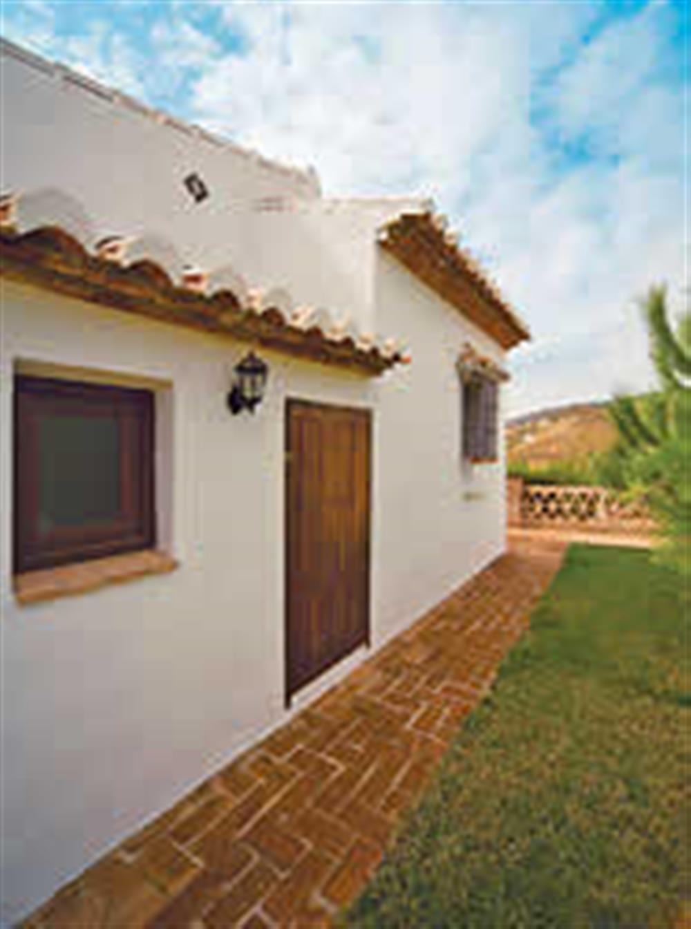 Villa exterior at Villa Casa Jorge, Frigiliana, Andalucia, Spain