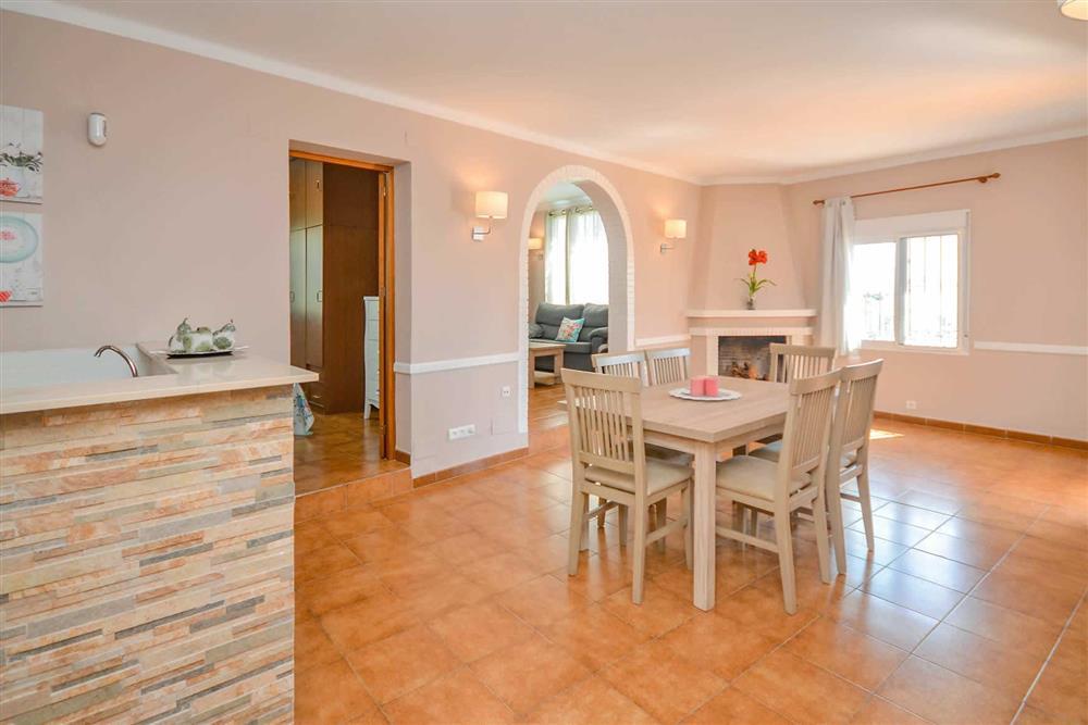 Dining room at Villa Casa Loly, Nerja, Andalucia