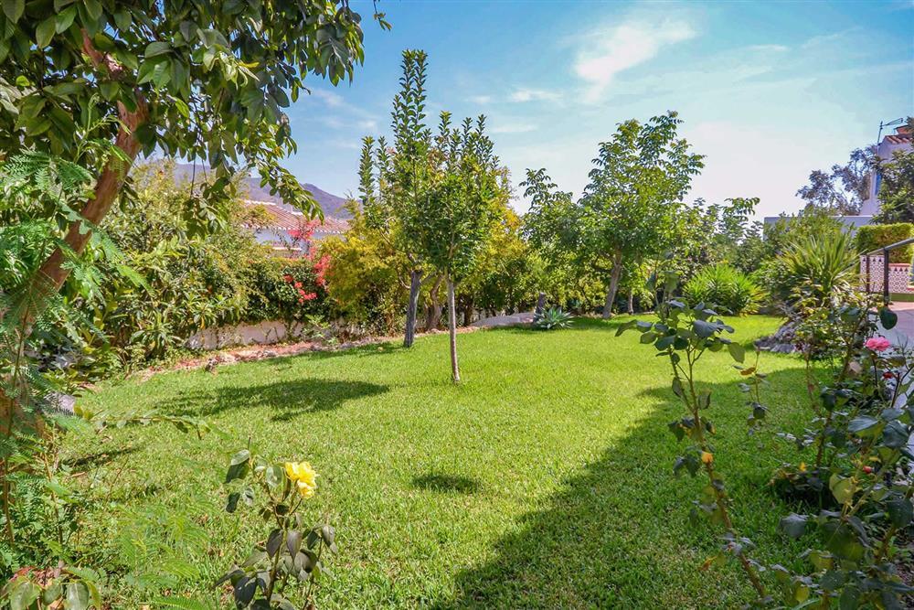 Garden at Villa Casa Loly, Nerja, Andalucia