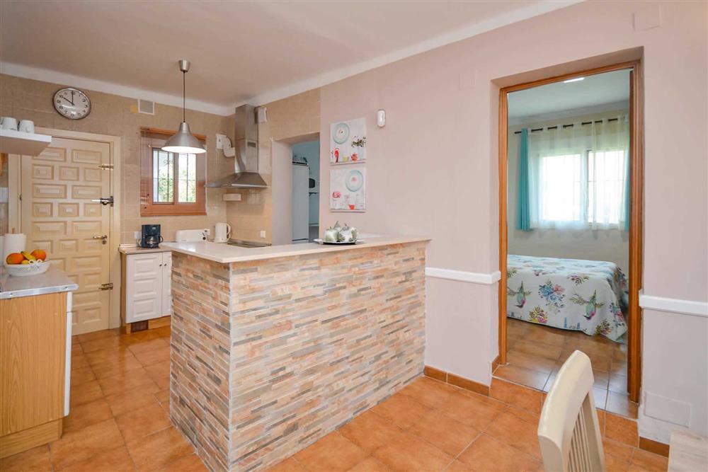 Kitchen at Villa Casa Loly, Nerja, Andalucia
