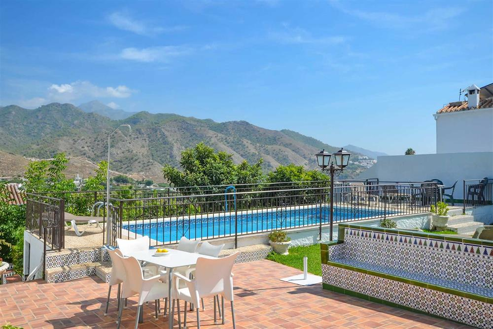 Pool at Villa Casa Loly, Nerja, Andalucia