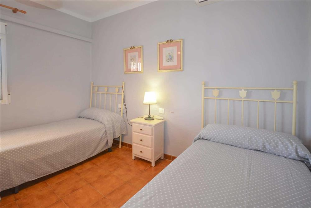 Twin bedroom at Villa Casa Loly, Nerja, Andalucia