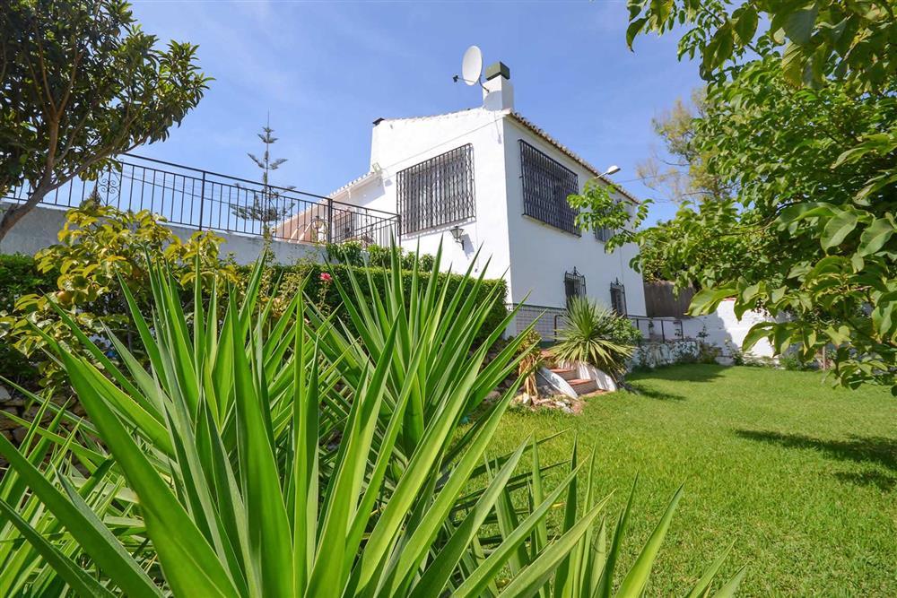 Villa exterior, garden at Villa Casa Loly, Nerja, Andalucia