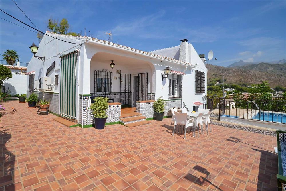 Villa exterior at Villa Casa Loly, Nerja, Andalucia