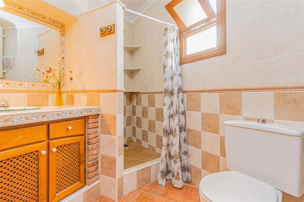 Bathroom at Villa Cecilio, Nerja, Andalucia