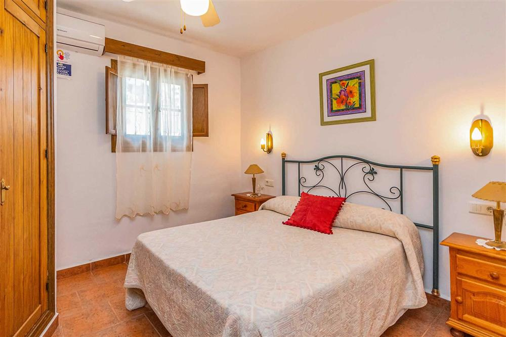 Double bedroom at Villa Cecilio, Nerja, Andalucia