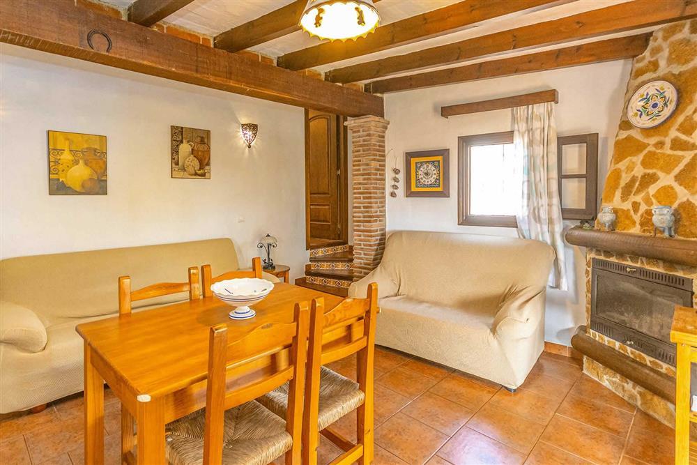 Living room at Villa Cecilio, Nerja, Andalucia